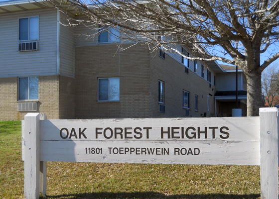 Oak Forest Heights Apartments Exterior