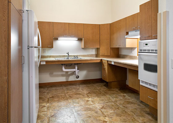 Bledsoe Lane Apartments Kitchen