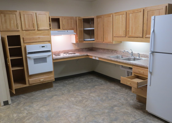 Blackbird Apartments Kitchen 2