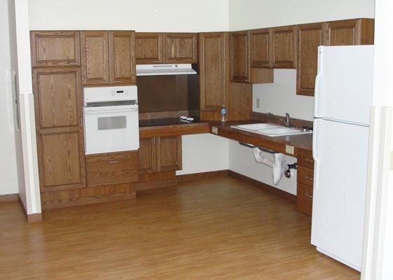 Park Apartments Kitchen