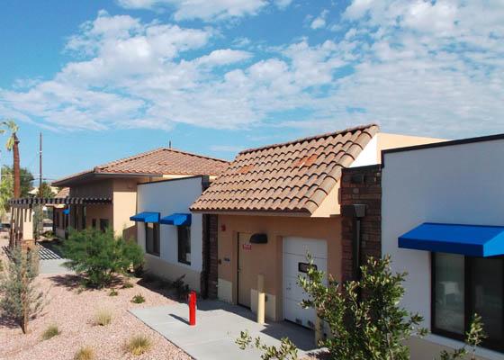 Mojave Cedar Apartments Exterior