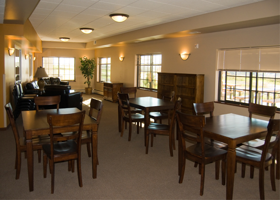 Kenosha Drive Apartments Community Room