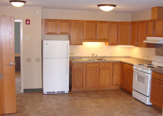 Washington Avenue Apartments Kitchen