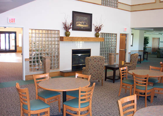 The Portage Apartments Community Room
