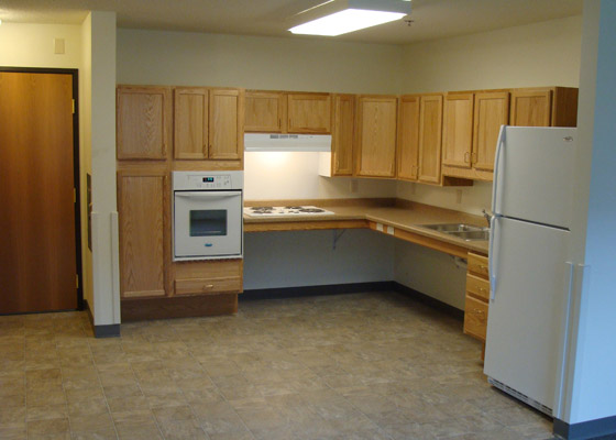 Hope Village Apartments Kitchen