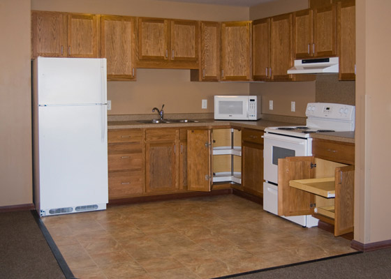 Kenosha Drive Apartments Kitchen