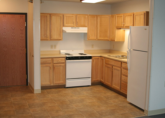 Pheasant Run Apartments Kitchen