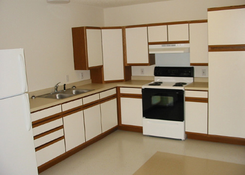 Arlington Gardens Apartments Kitchen