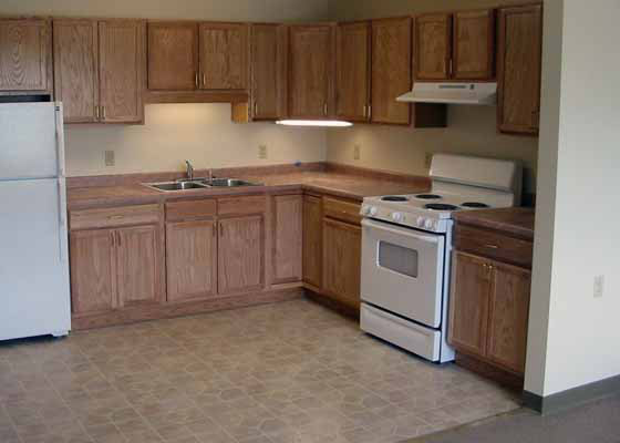 Maple Trail Apartments Kitchen