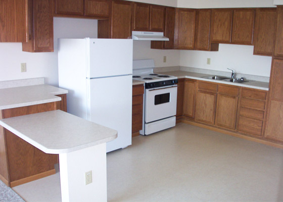 The Portage Apartments Kitchen