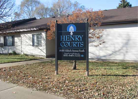 Henry Courts Exterior
