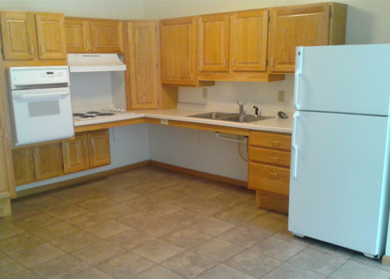 Pine Grove Apartments Kitchen